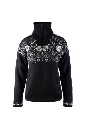 Dale Cortina Merino Sweater Women's BlackOff White 93811 F